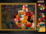 Puzzle mania Mickey mouse j�t�k